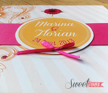 5-fairepart-mariage-estival-fleur-rose-orange